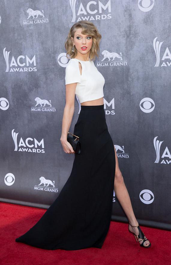 Taylor Swift  at ACM Awards in Las Vegas