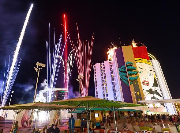 Plaza Hotel & Casino to Host Independence Day Party on June 30 at Rooftop Pool with Hot Dog Eating Contest, DJ and Fireworks