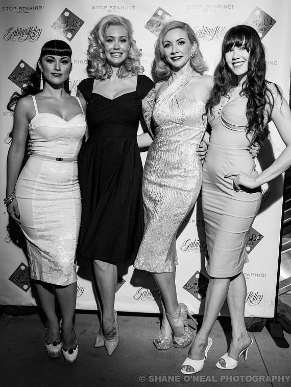 Melody Sweets, Sabrina Kelley, Jennifer Affronti, and Claire Sinclair