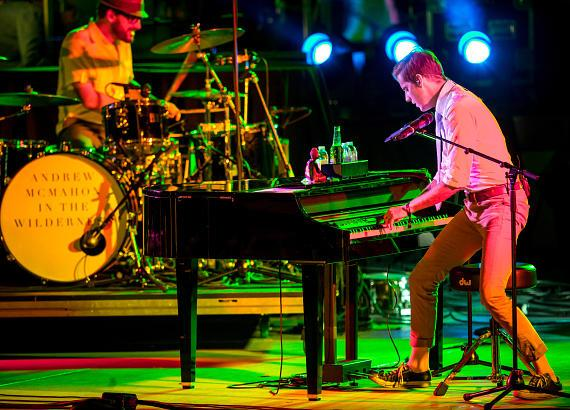 """Andrew McMahon In The Wilderness perform at X107.5's """"Our Big Concert"""" at The Cosmopolitan of Las Vegas"""