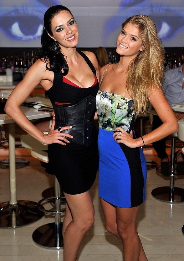 Adrianne Curry's Vegas Getaway at Andrea's, Surrender and Encore Beach Club