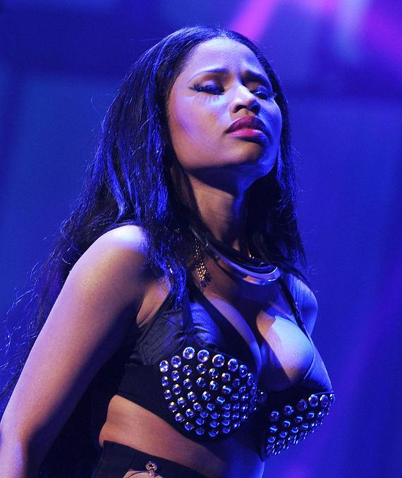 Nicki Minaj performs during the 2014 iHeartRadio Music Festival at the MGM Grand Garden Arena