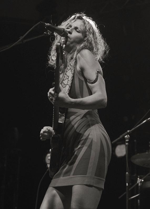 Ana Popovic performs at the 2014 Big Blues Bender at the Rivera Hotel & Casino