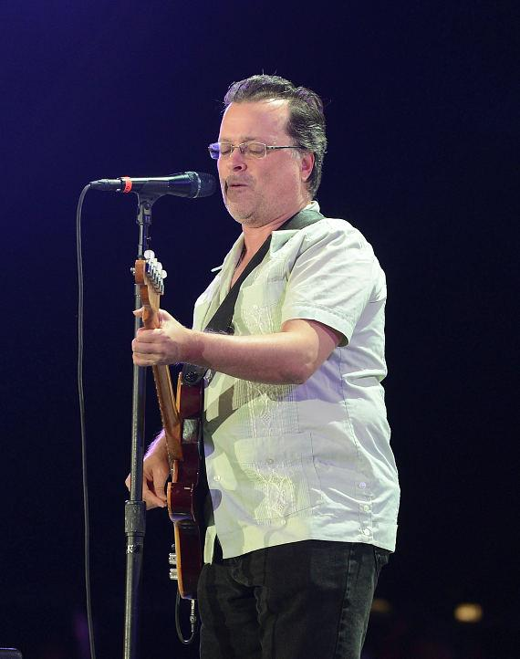 Singer Gordon Gano of the Violent Femmes performs at the Ninth Annual Wine Amplified Festival at the MGM Resorts Village on October 11, 2014