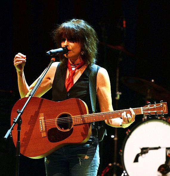 Chrissie Hynde performs at The Pearl at Palms Casino Resort in Las Vegas