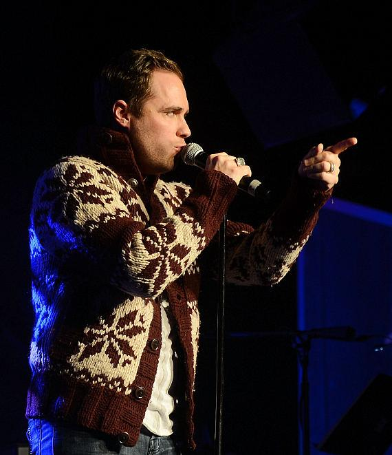 Josh Strickland performs at Monday's Dark benefiting The Center at Vinyl and Hard Rock Hotel and Casino on January 26