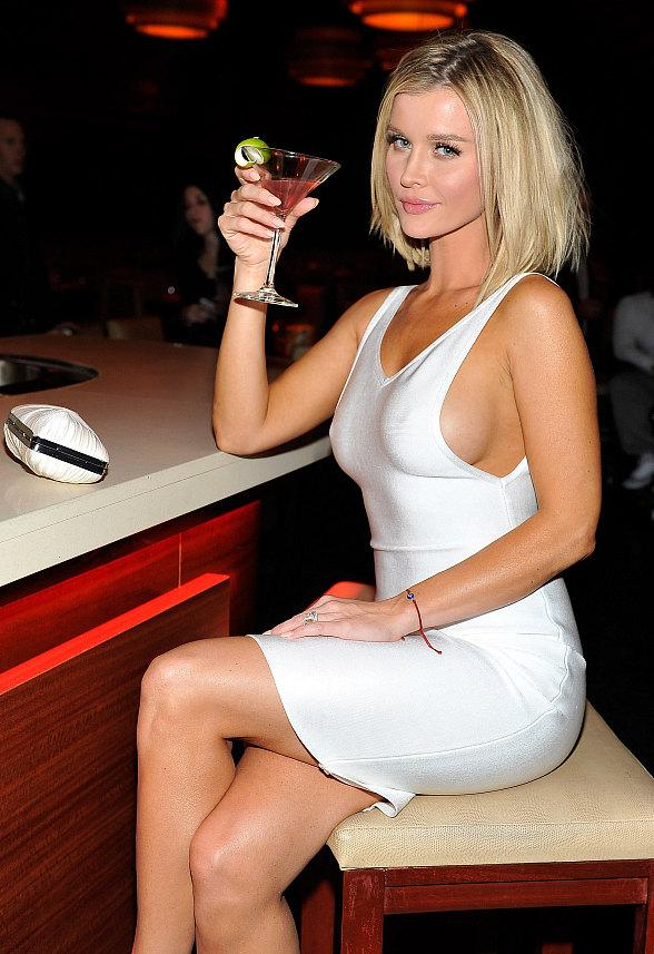 Model and Actress Joanna Krupa hosts 1OAK Nightclub at The Mirage in Las Vegas