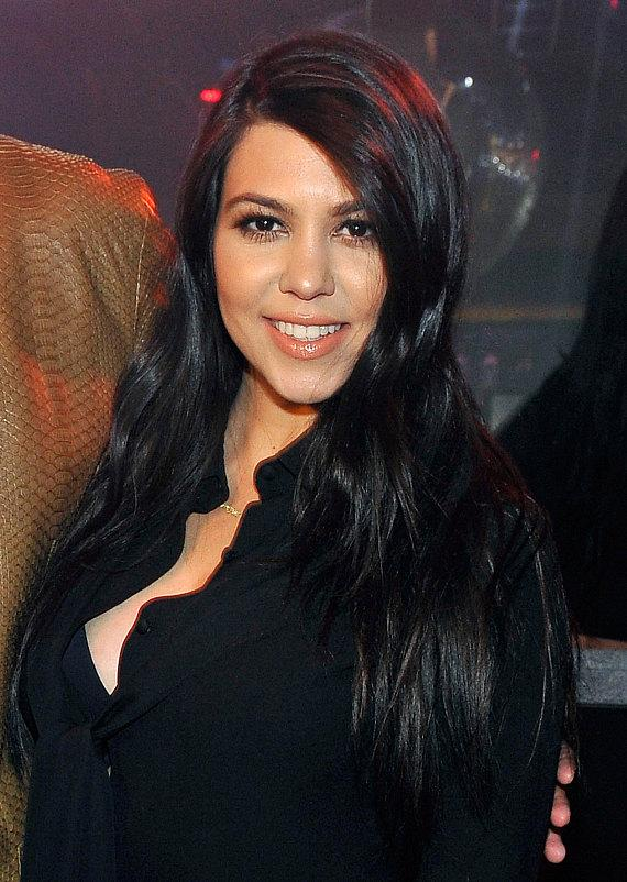 Kourtney Kardashian at 1OAK in The Mirage Las Vegas