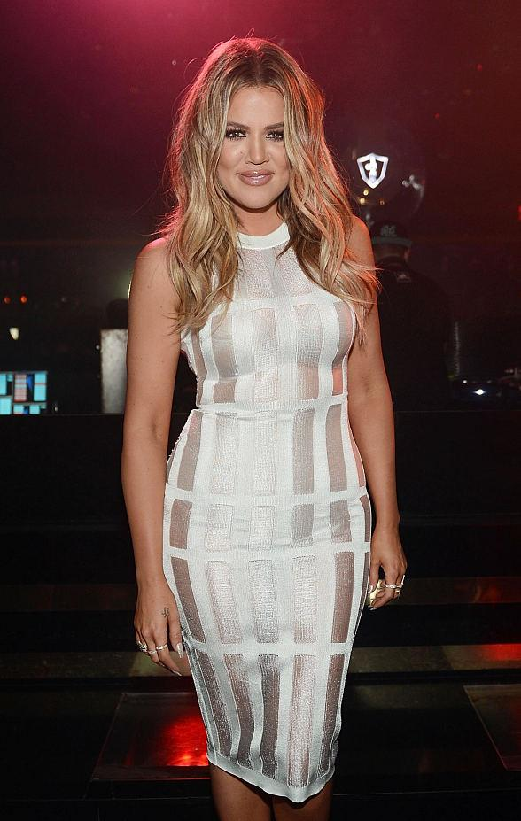 Khloe Kardashian Hosts 1 OAK Nightclub at The Mirage Hotel and Casino