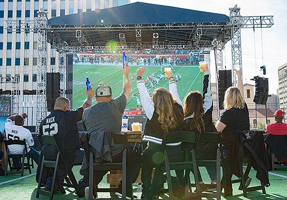 FOX5 Official Raiders Watch Party to Return to Downtown Las Vegas Events Center, Aug. 22