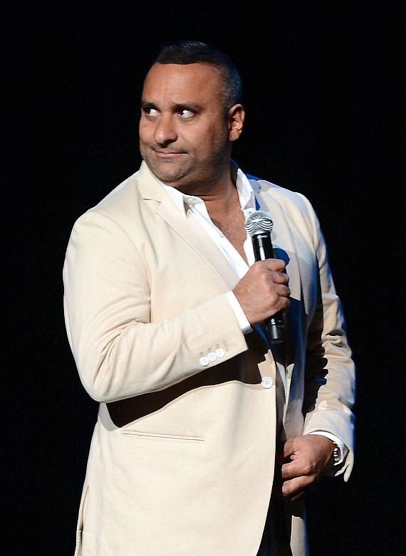 Comedian Russell Peters performs at The Pearl in Palms Casino Resort