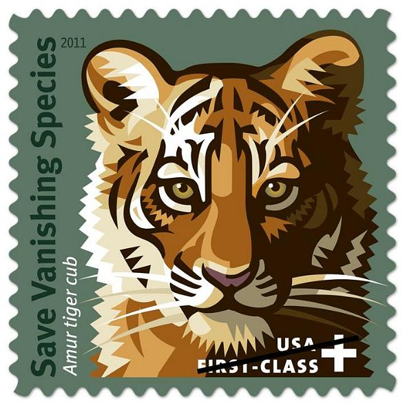 """Save Vanishing Species"" stamp"