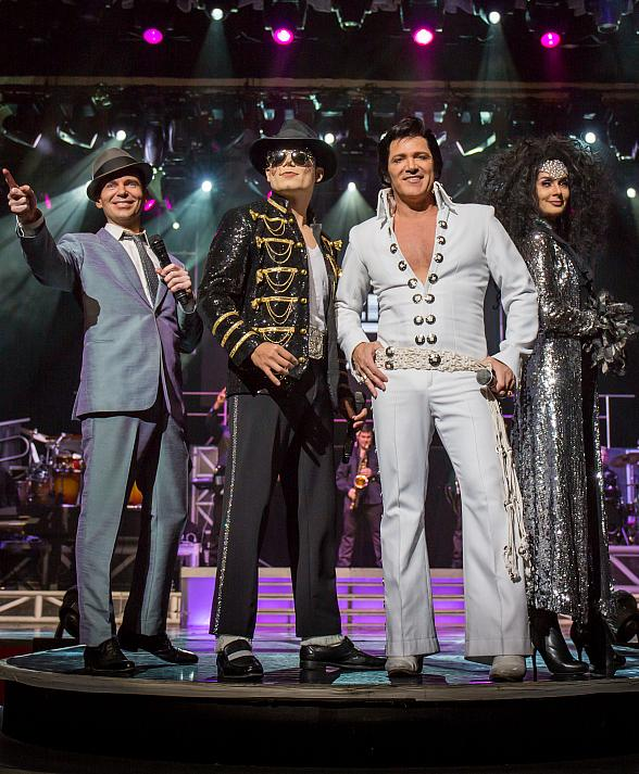 """""""Legends in Concert"""" to Launch All-New Residency at Tropicana Las Vegas February 2019"""