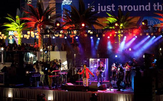 Ms. Lauryn Hill performs at The Boulevard Pool at The Cosmopolitan of Las Vegas