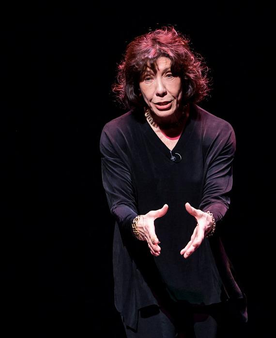 Lily Tomlin Performs at Reynolds Hall at The Smith Center For Performing Arts in Las Vegas