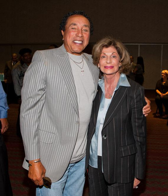 Smokey Robinson with NV Congresswoman Shelley Berkeley