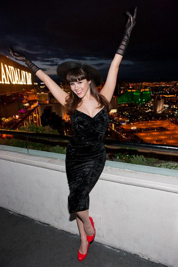 Claire Sinclair at the House of Blues Foundation Room at Mandalay Bay