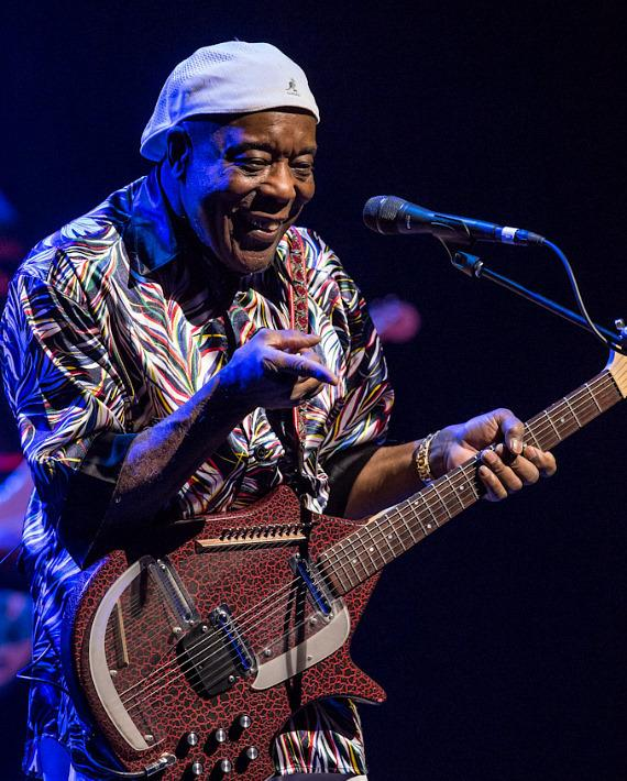Guitarist Buddy Guy performs at The Smith Center For The Performing Arts in Las Vegas