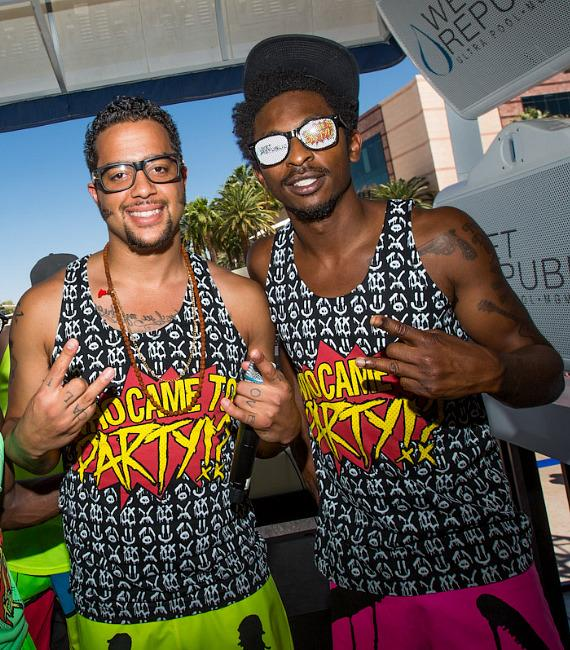 Sky Blu of LMFAO performs at WET REPUBLIC