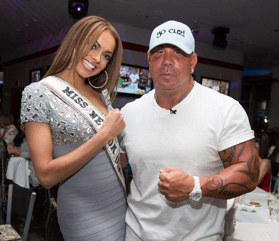 Miss Nevada and Steve Martorano