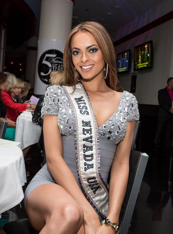 Miss Nevada at Martorano's Restaurant in Las Vegas