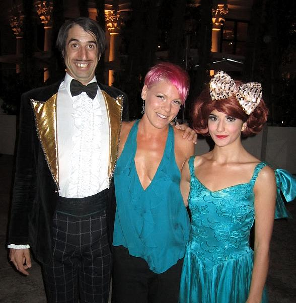 The Gazillionaire, Pink and Penny Pibbets at ABSINTHE in Las Vegas