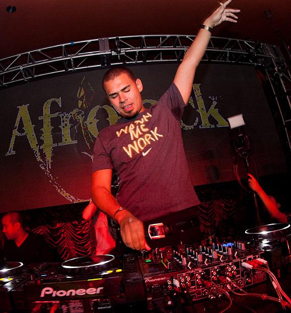 Afrojack performs at Surrender Nightclub at Encore in Las Vegas
