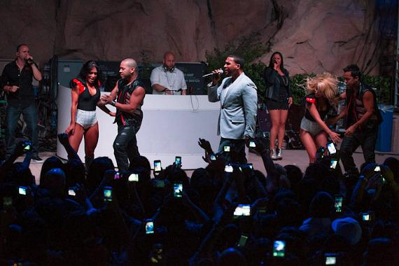 Don Omar performs at The Soundwaves Poolside Stage at Hard Rock Hotel & Casino