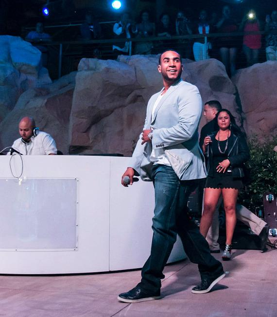 Don Omar oerforms at The Soundwaves Poolside Stage at Hard Rock Hotel & Casino