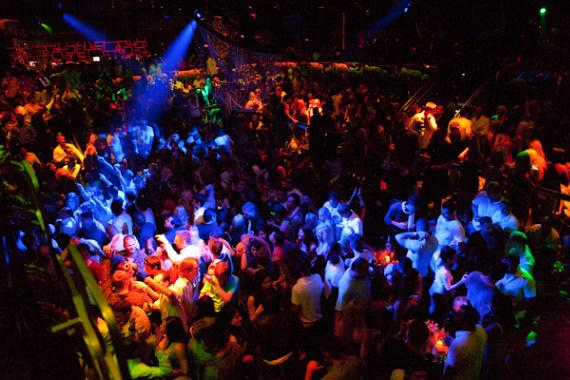 Tiesto Performs at The Bank Nightclub in The Bellagio