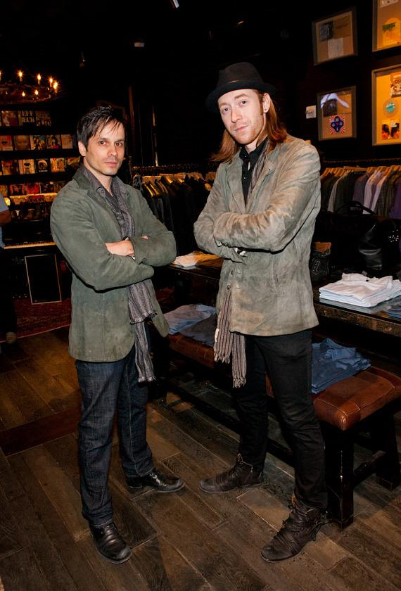 John Varvatos party and guests