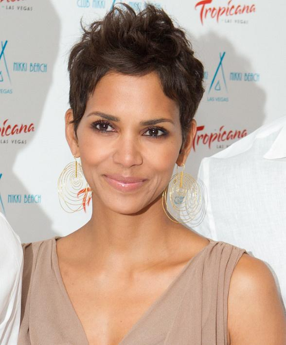 Halle Berry at Nikki Beach in The Tropicana