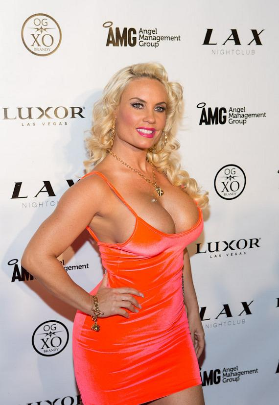 Coco on red carpet at LAX Nightclub at Luxor in Las Vegas