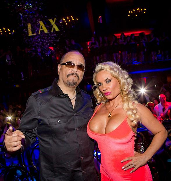 Ice-T and Coco Party at LAX Nightclub at Luxor in Las Vegas