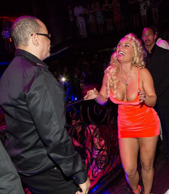 Ice-T and Coco at LAX Nightclub at Luxor in Las Vegas