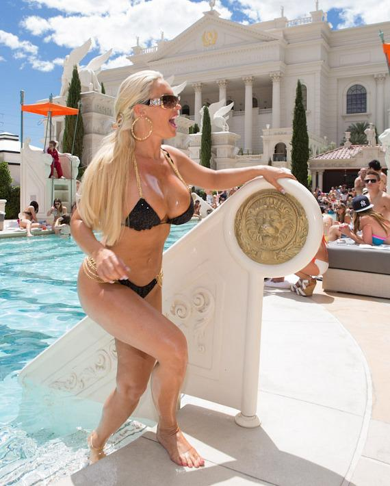 Coco at Venus Pool Club at Caesars Palace in Las Vegas