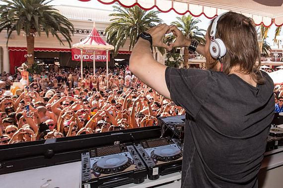 David Guetta at Encore Beach Club