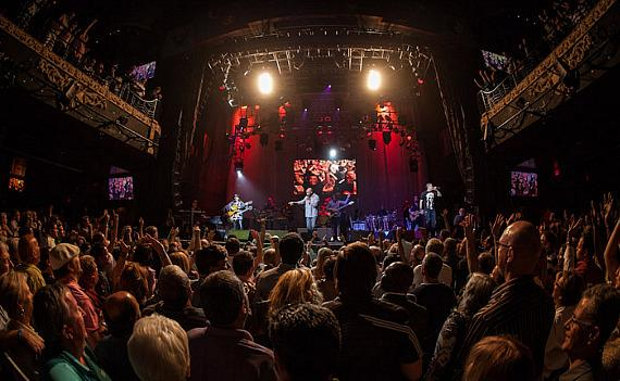 Santana performs his first show at the House of Blues at Mandalay Bay in Las Vegas