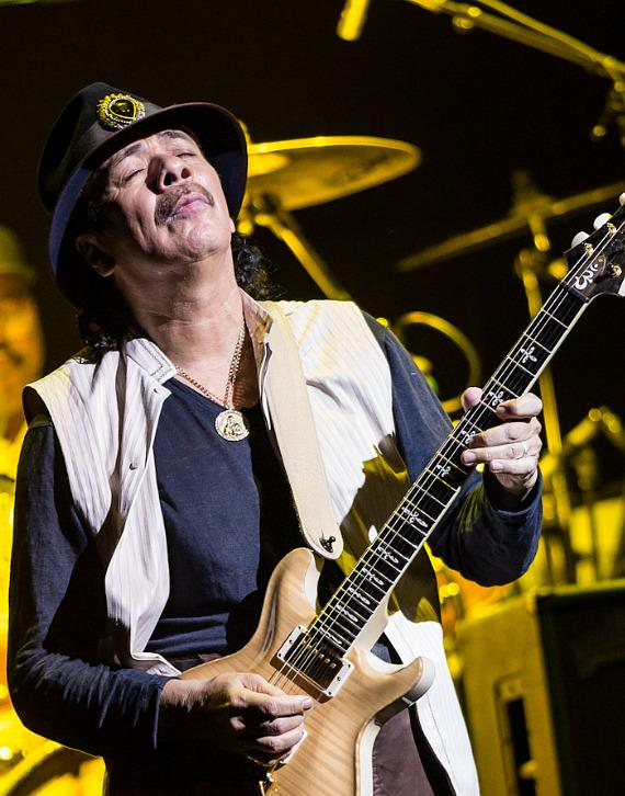Carlos Santana performs at House of Blues Las Vegas