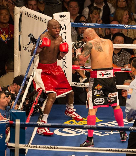 Floyd Mayweather vs. Miguel Cotto at the MGM Grand Hotel in Las Vegas