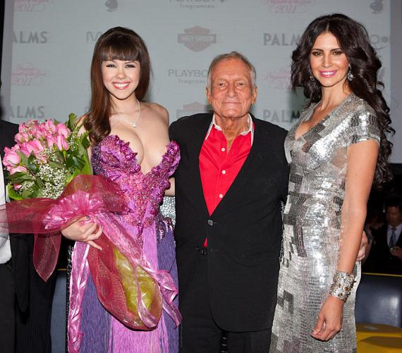Claire Sinclair, Marston Hefner and Hope Dworaczyk