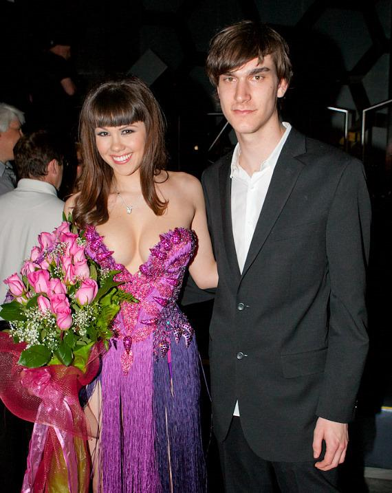 Claire Sinclair and Marston Hefner
