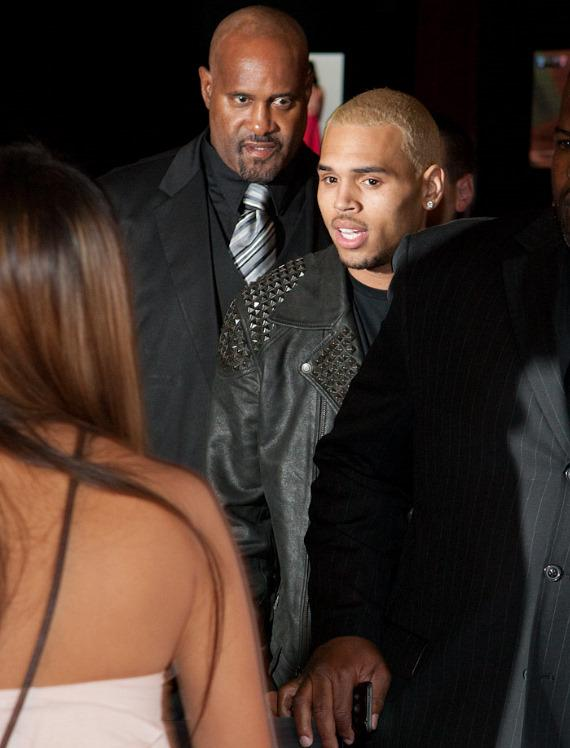 Chris Brown at PURE Nightclub