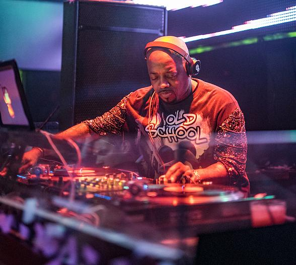 Jermaine Dupri hosts at TAO Friday in Las Vegas