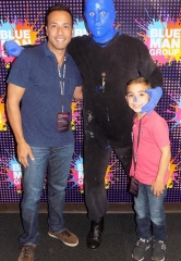 Howie Dorough of Backstreet Boys Attends Blue Man Group Las Vegas