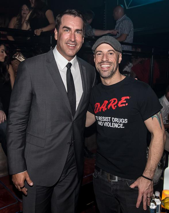 Rob Riggle, Chris Daughtry and Erik Karlsson spotted at LIGHT Nightclub