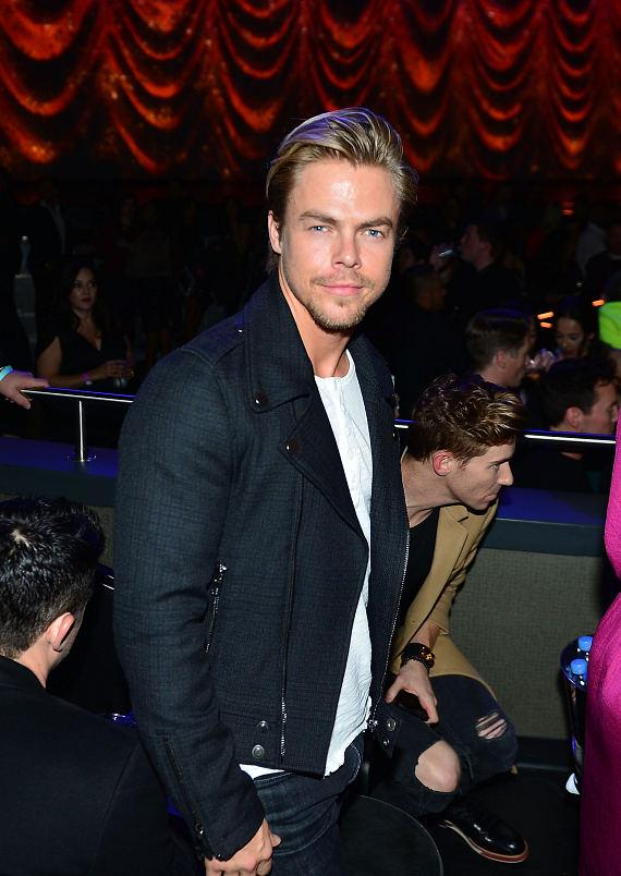 "Derek Hough at ""Jennifer Lopez: All I Have"" at The AXIS at Planet Hollywood Resort & Casino"