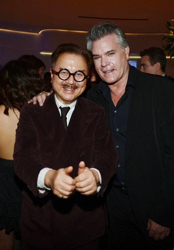"Michael Chow and Ray Liotta attend Mr Chow Caesars Palace following the debut of ""Jennifer Lopez: All I Have"