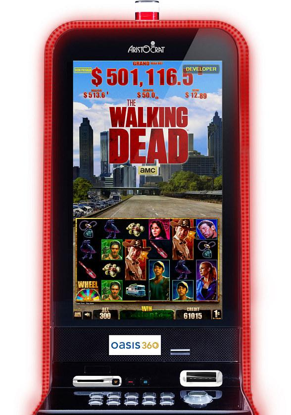 Aristocrat Unleashes The Walking Dead Slot Game
