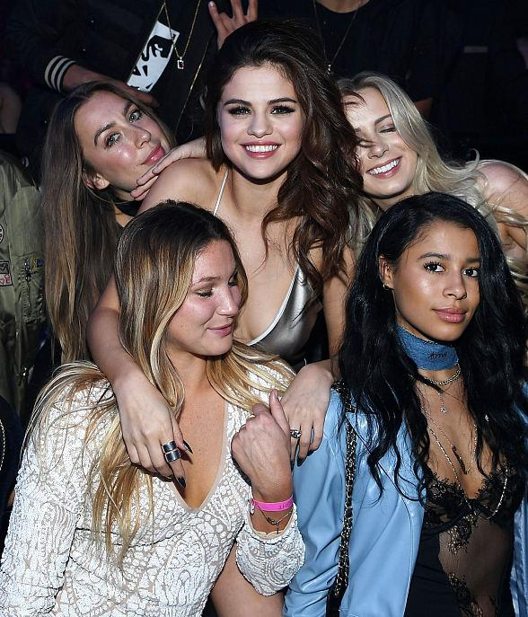 "Selena Gomez arrives at her official ""Revival Tour"" kick off after party at Light Nightclub at Mandalay Bay Hotel and Casino"